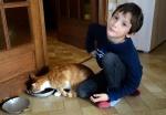 Emile et le chat Lancelot